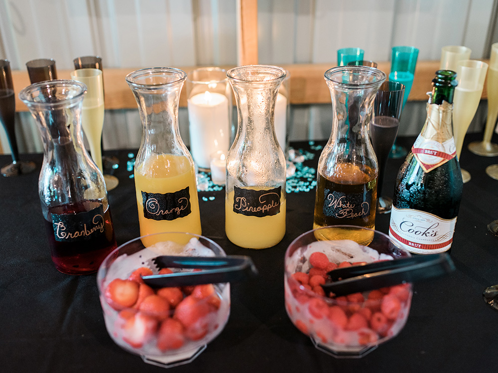 wedding drinks champaign fruit  waterloo cedar falls ia wedding photographer.jpg