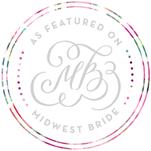 Nicole Corrine featured on Midwest Bride Snowden House bridal Iowa