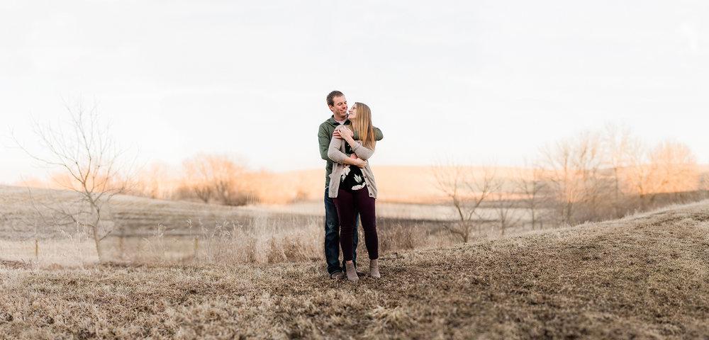 Nicole Corrine Iowa Wwdding Photographer Farm Engagement Session.jpg