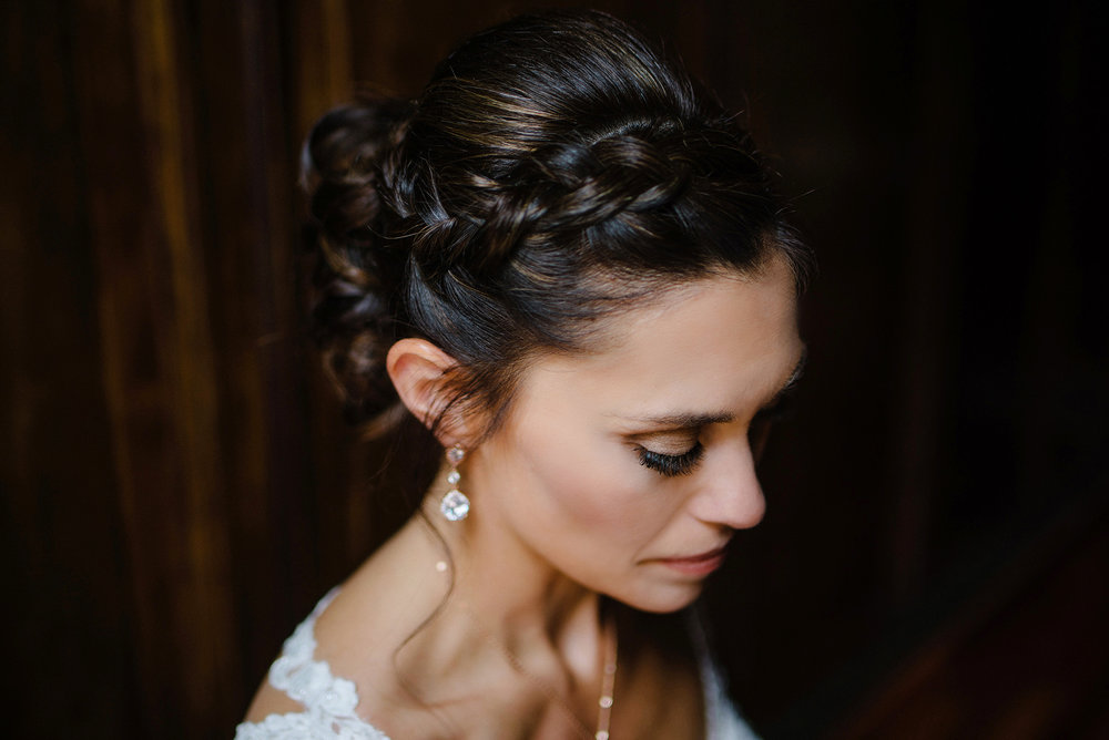 Gorgeous Bride Close up makeup by Rebecca berry at Berry Beautiful Makeup