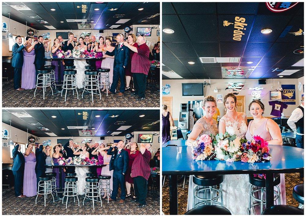 wedding bar hopping