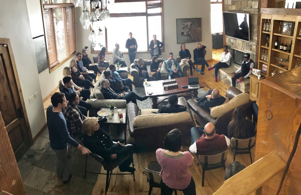 #ImpactBrunch family and friends.