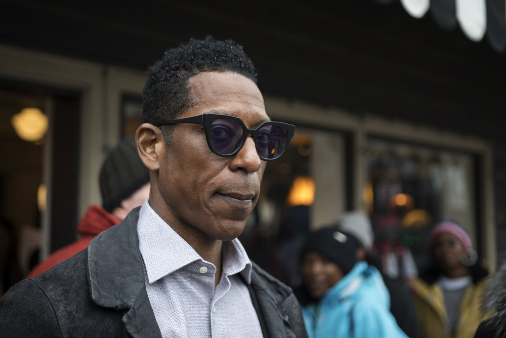 Orlando Jones on Main Street.