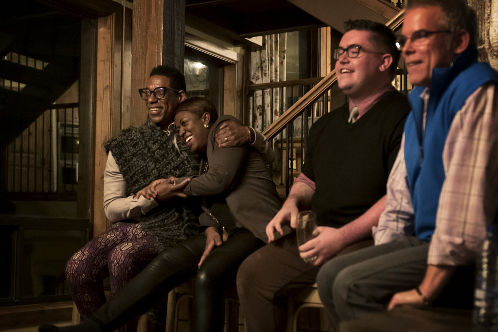 Orlando Jones, Samantha Abrams, Josh Bouy, EP, Snowday and Troy Buder, EP for Disney's Queen of Katwe.
