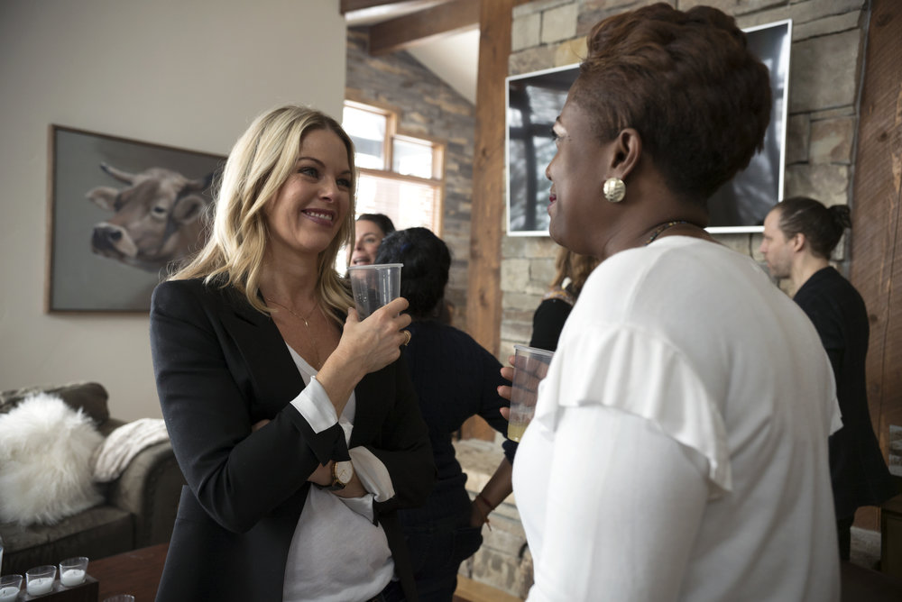 Holly Levow, Equitas Entertainment and Samantha Abrams, March on Washington Film Festival.