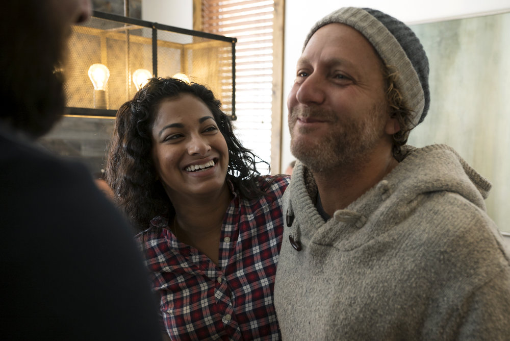 Joy Basu, Rise Fund and Mike Masserman, Head of Impact at Lyft.