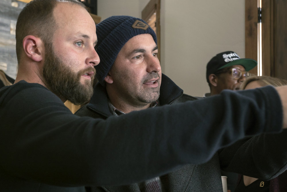 Tyler Wakstein with Scott Budnick of Anti Recidivism Coalition and Good Films.