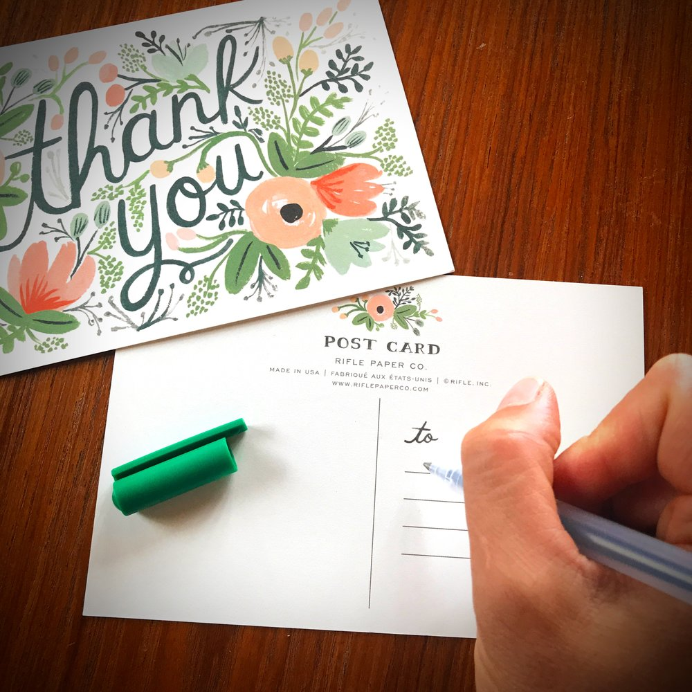 Handwritten Letters at The Nest