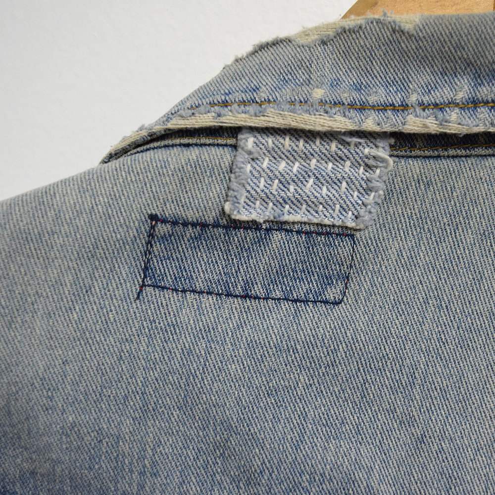 Sashiko:   Wednesday, October 11. 6-7:30pm   - Bring your worn denim in for a little mending revival with sashiko, a traditional Japanese form of stitching that both mends and decorates clothing.