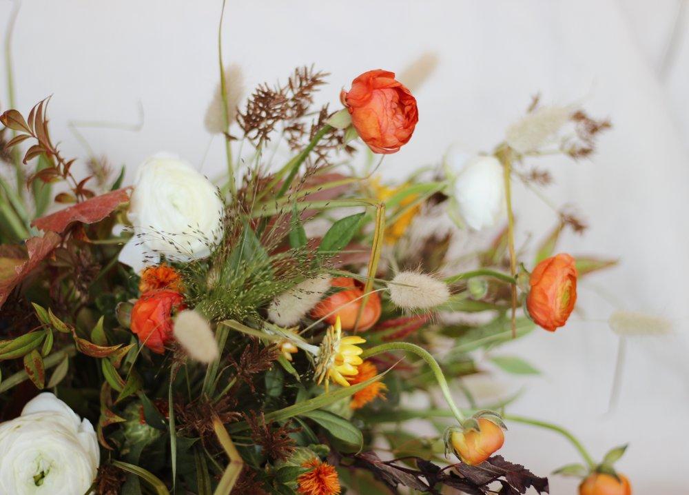 Camryn Lane Thanksgiving Centerpiece Floral Arrangement Class at The Nest