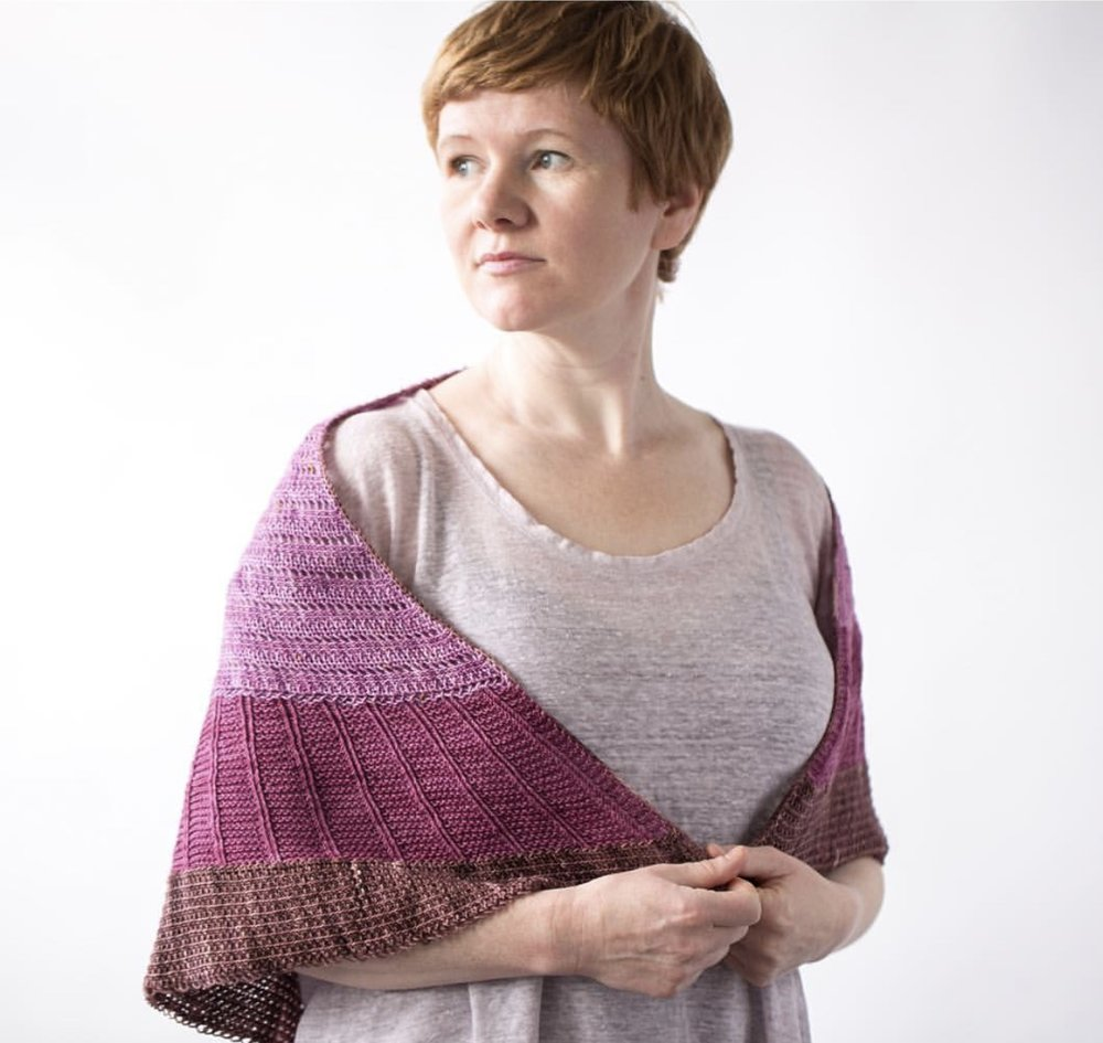 Gudrun Johnston Knitting Classes at The Nest