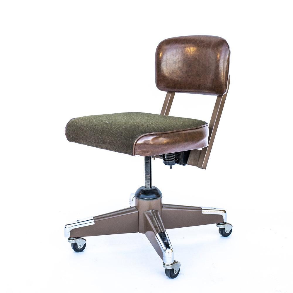 1970u0027s Rolling Desk Chair