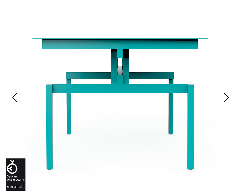 Pascal Howe_Covered Identity_Dining-Table_turqoise 1.jpg