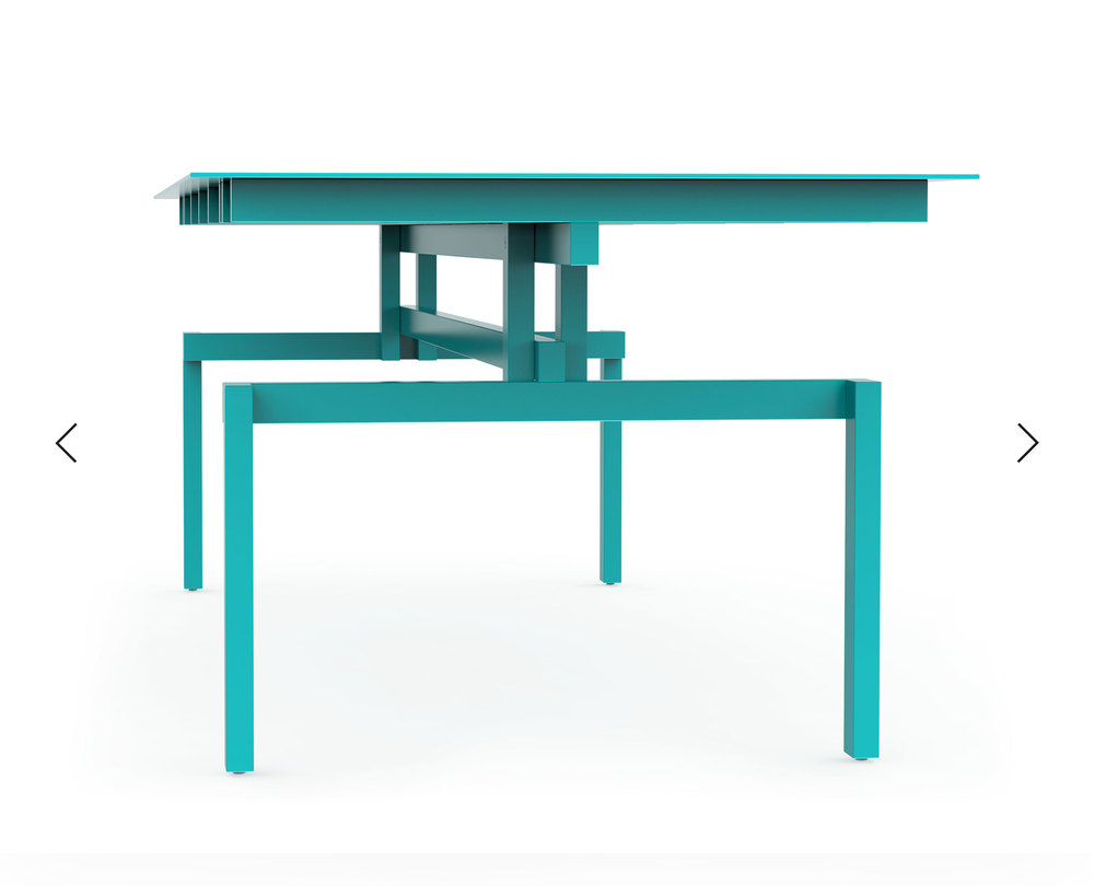 Pascal Howe_Covered Identity_Dining-Table_turquoise 4.jpg