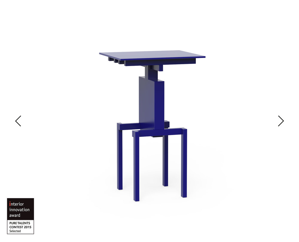 Pascal Howe_Covered Identity_Side-Table_blue 1.jpg