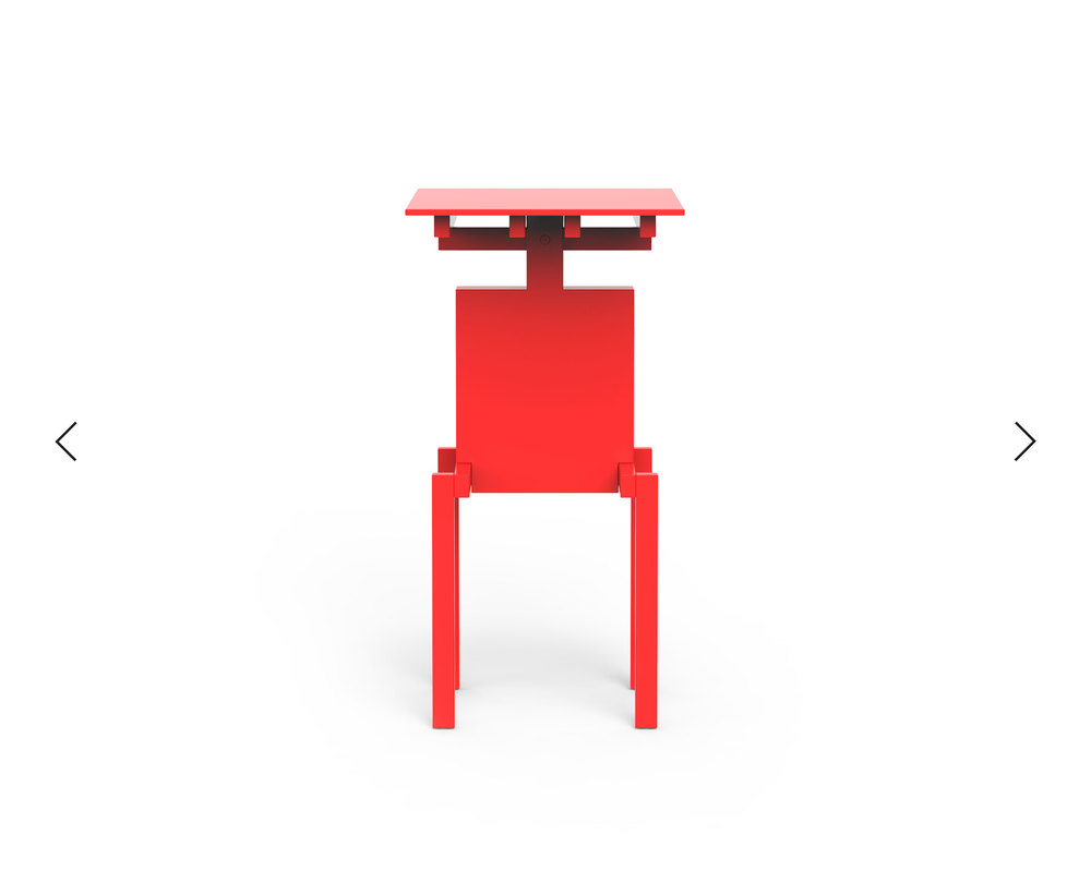 Pascal Howe_Covered Identity_Side-Table_red 4.jpg