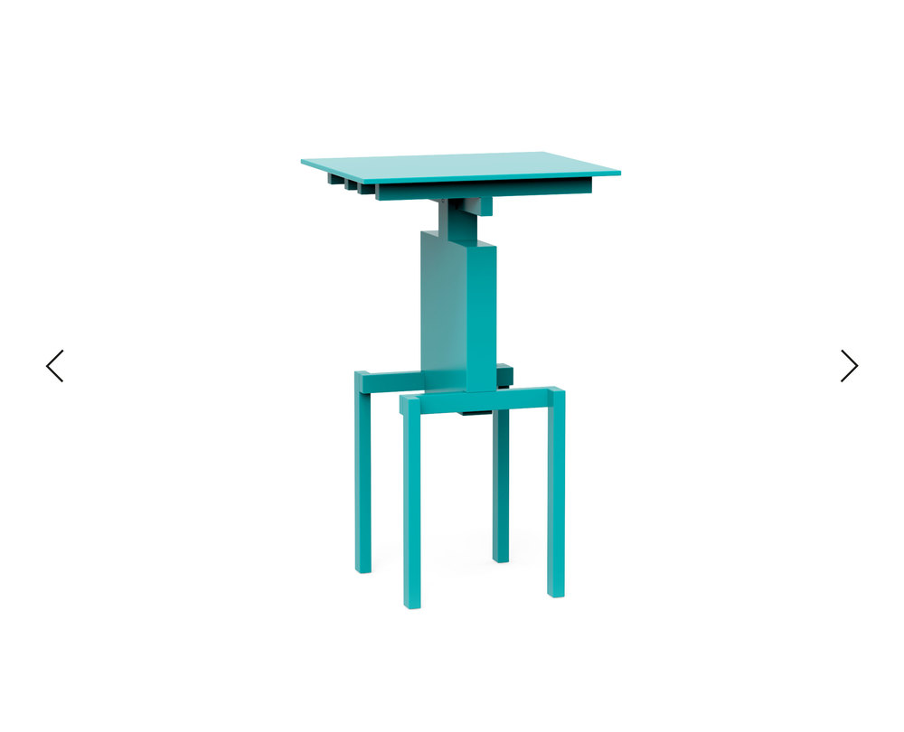 Pascal Howe_Covered Identity_Side-Table_turquoise 3.jpg