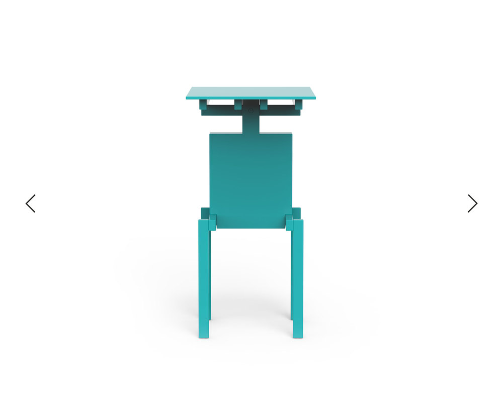 Pascal Howe_Covered Identity_Side-Table_turquoise 4.jpg