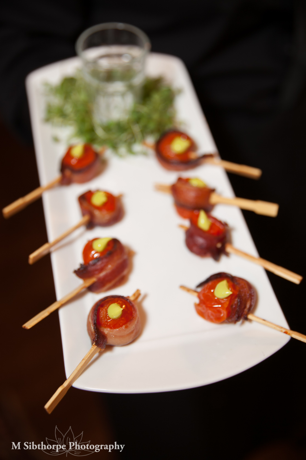 Bacon Wrapped Sweet 100 Tomato