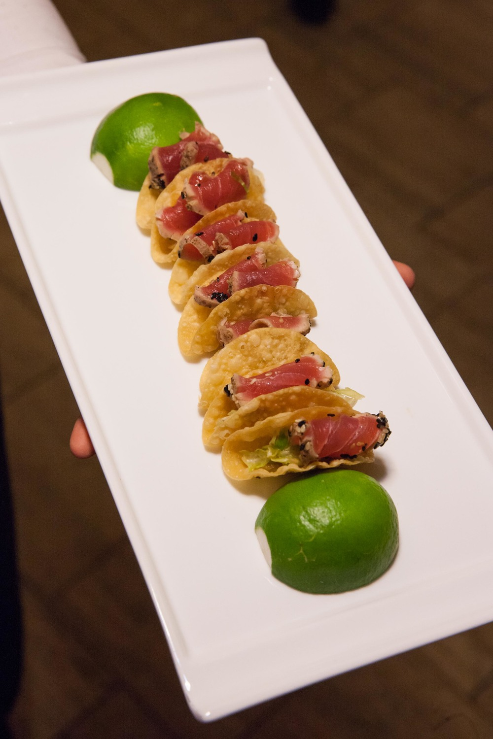Seared Tuna Taco