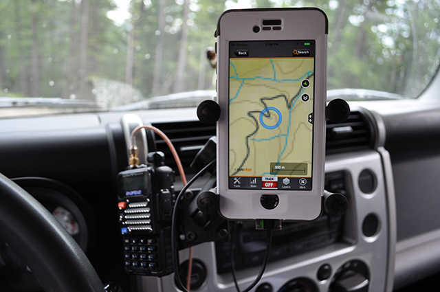 FJ Navigation and communications