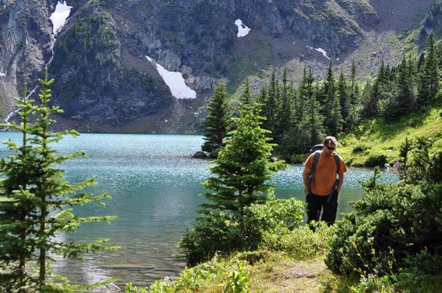 Lake side stroll