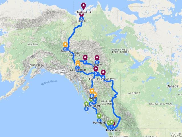 Tuktoyaktuk Summer 2017 — Overlanding BC