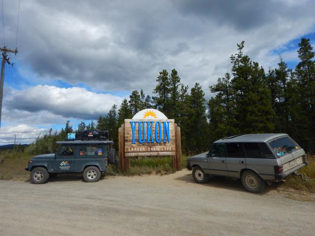 Yukon Border, Watson Lake, YT