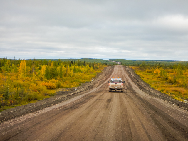 Stunning scenary, Mackenzie Valley Highway, NWT