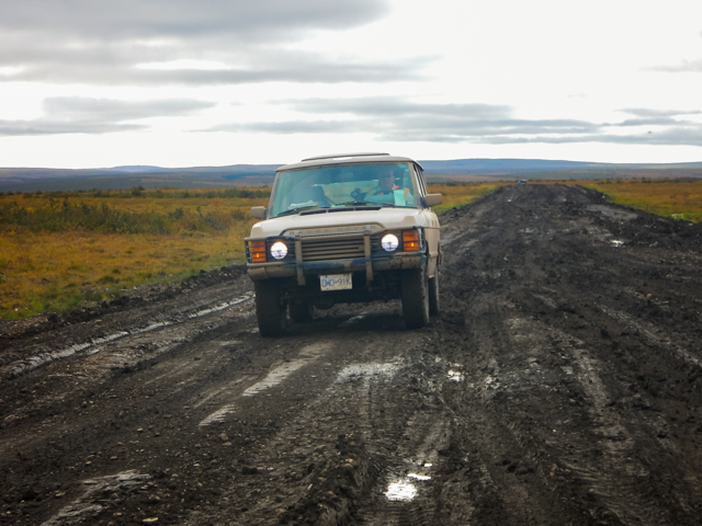 Mudfest, Mackenzie Valley Highway, NWT
