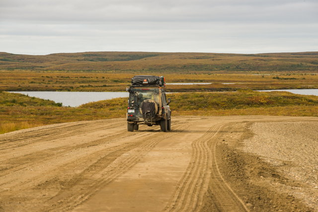 Mackenzie Valley Highway, NWT