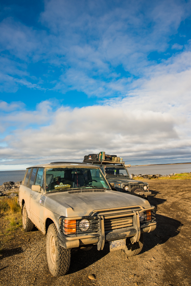 Our trusty rides, Tuktoyaktuk, NWT