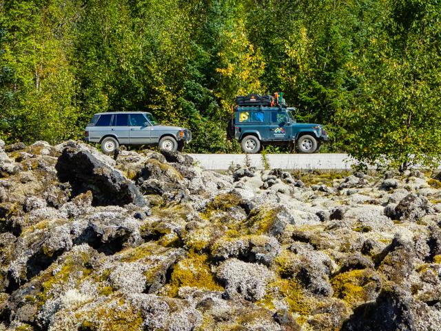 Lava fields at Nisga'a Provincial Park,Nisga, BC
