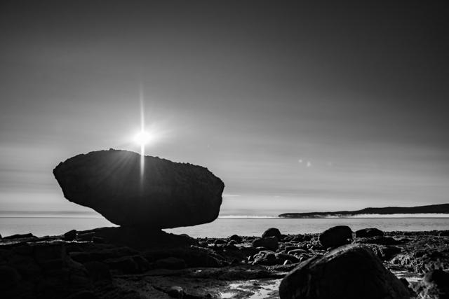 Balance Rock, Haida Gwaii, BC