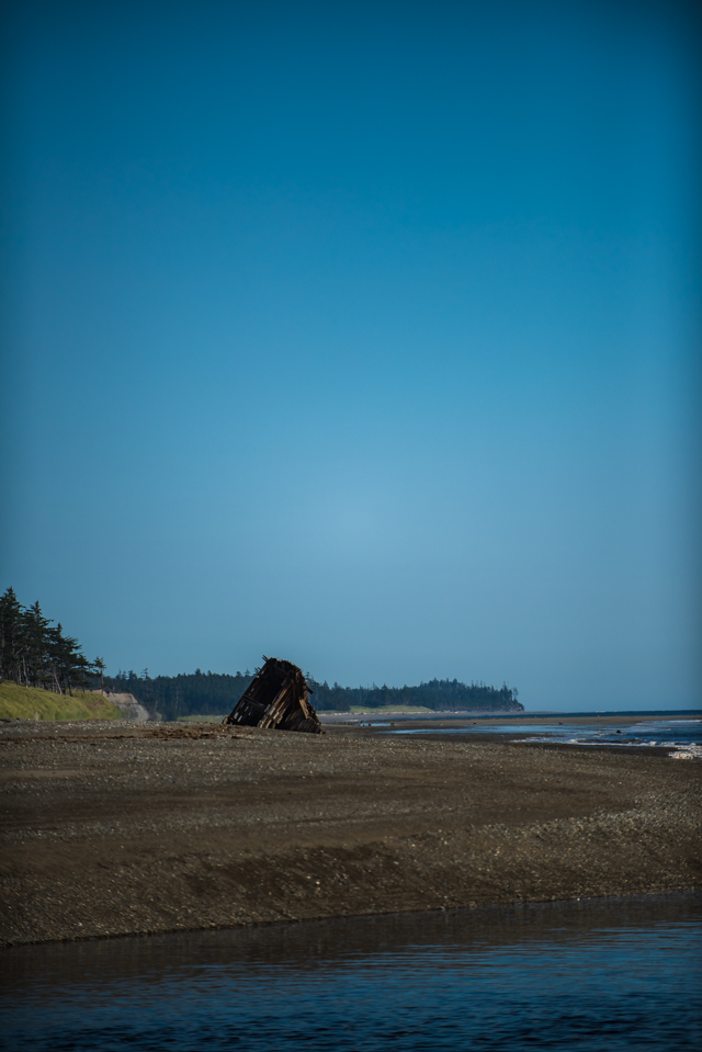 Pesuta Shipwreck, Haida Gwaii, BC
