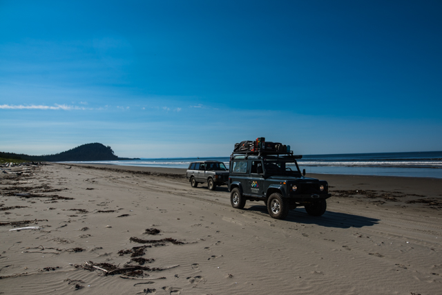 North Beach with Tow Hill in the background, Haida Gwaii, BC