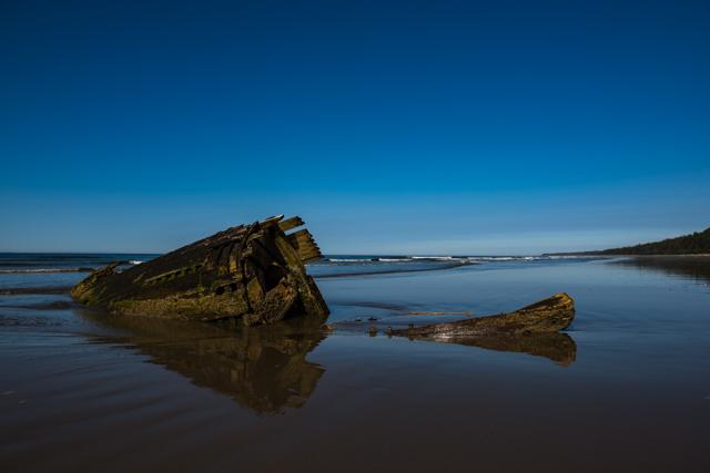 North Beach wreck, Haida Gwaii, BC