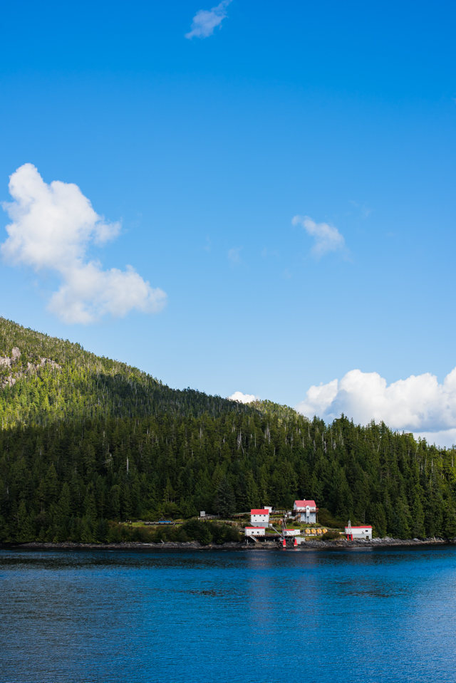 Boat Bluff Lighthouse, Klemtu, BC