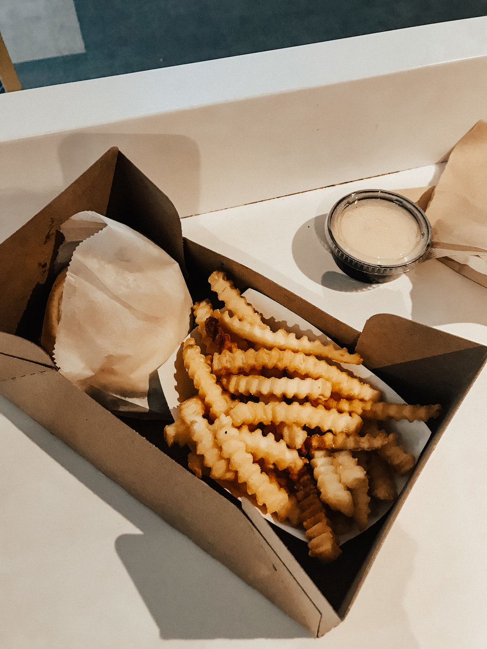 shake shack in LAX. best thing about that airport… cause that place S U X