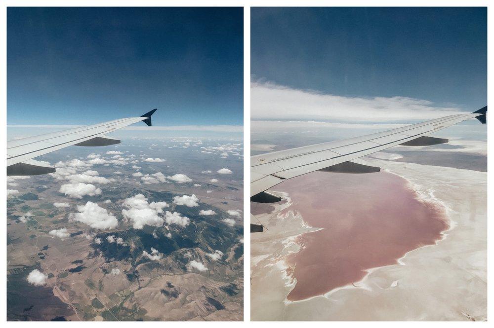 I love flying over utah
