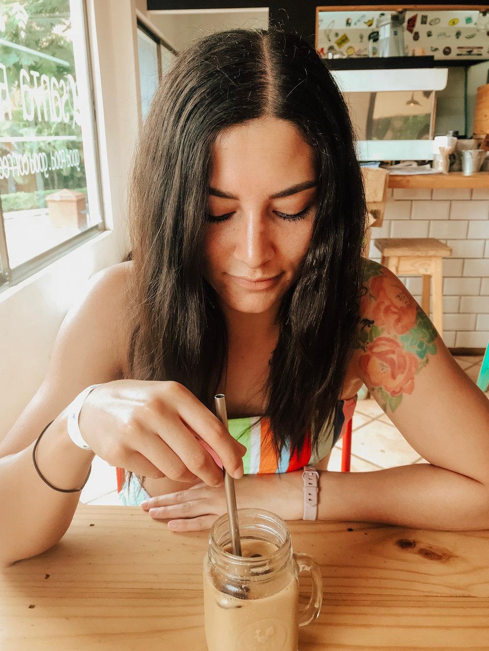 more coffee, duh  -Santa Clarita Cafe