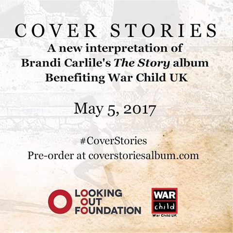 We are so honored to bring these children's stories to life through song with our dear friend @brandicarlile and her #LookingOutFoundation to raise money for @WarChildUK #CoverStories. Link in bio