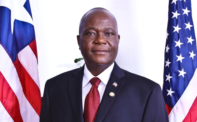 Liberian Ambassador to the United States, Honorable Jeremiah C. Sulunteh