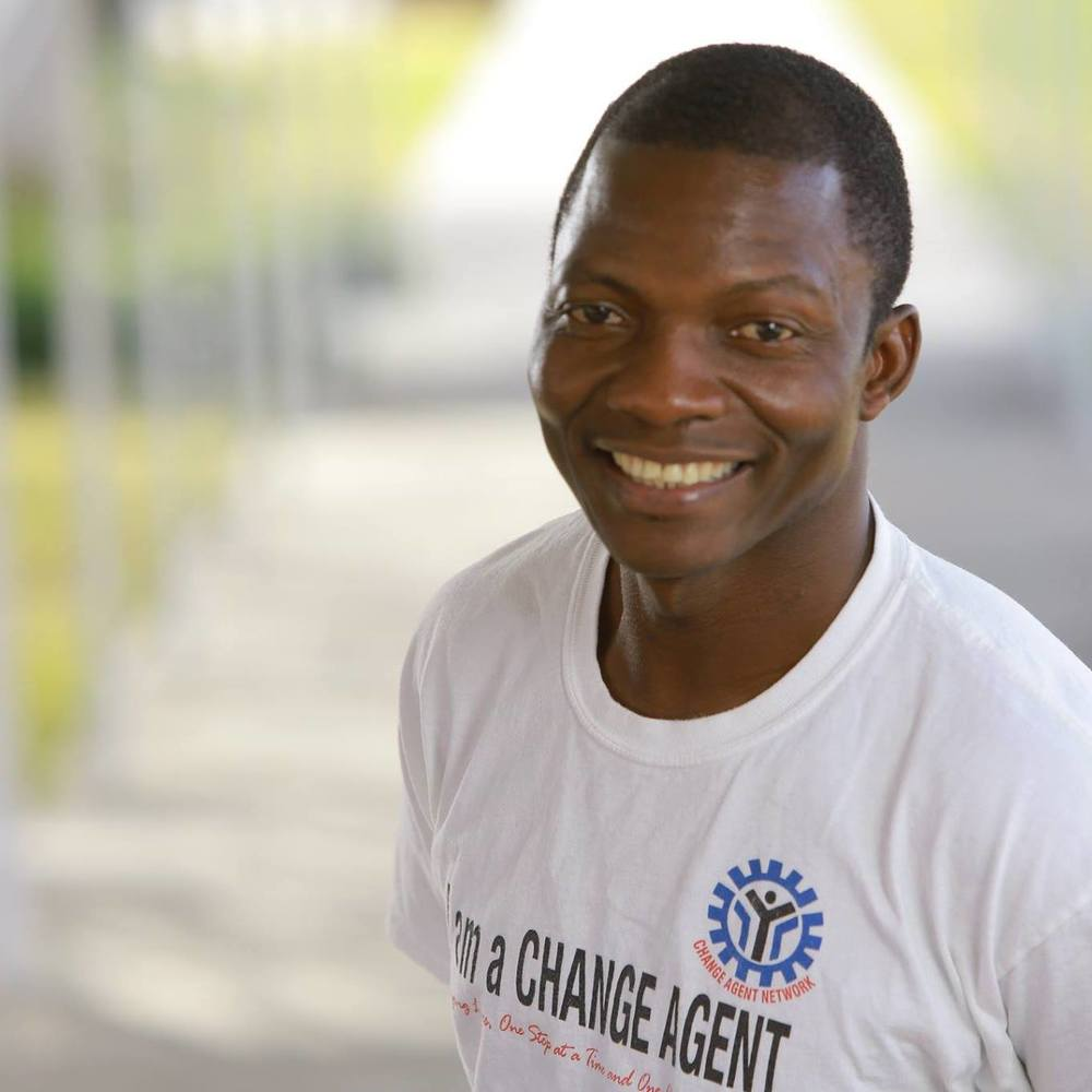 Eric Wowoh, Founder and Executive Director of Change Agent Network