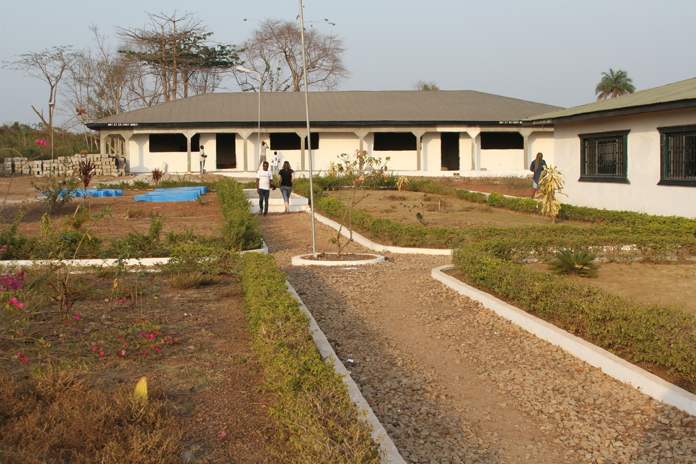 Front-view of the Change Agent Network Academy (CAN-ACADEMY) Encompassing from K-12 grade located in Fissibu Town, Lofa County, Northern Liberia.