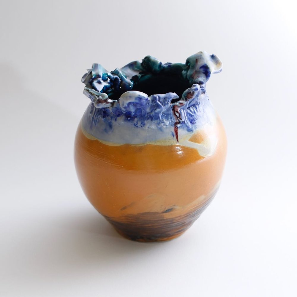 Ren Studio,  Vase  , Clay, 2017. @2017 Ren Studio, courtesy Fou Shop