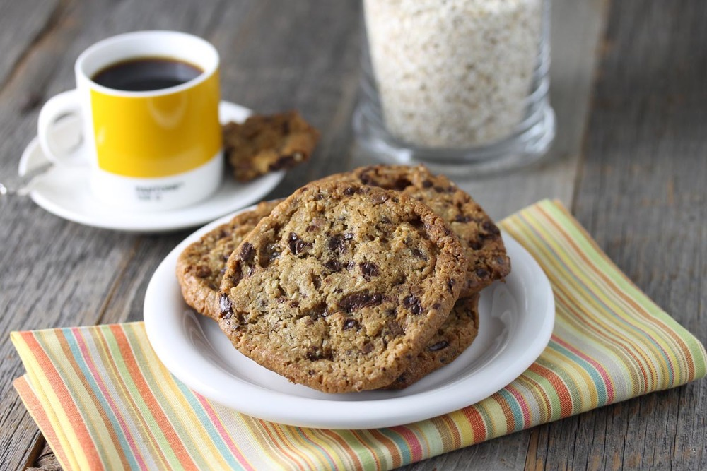 Oat Toffee Crunch Cookie