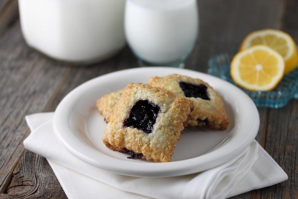 Wild Blueberry Pie Cookie