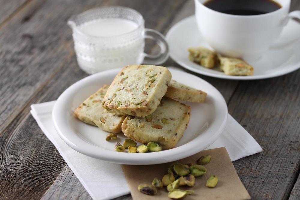 Pistachio Shortbread