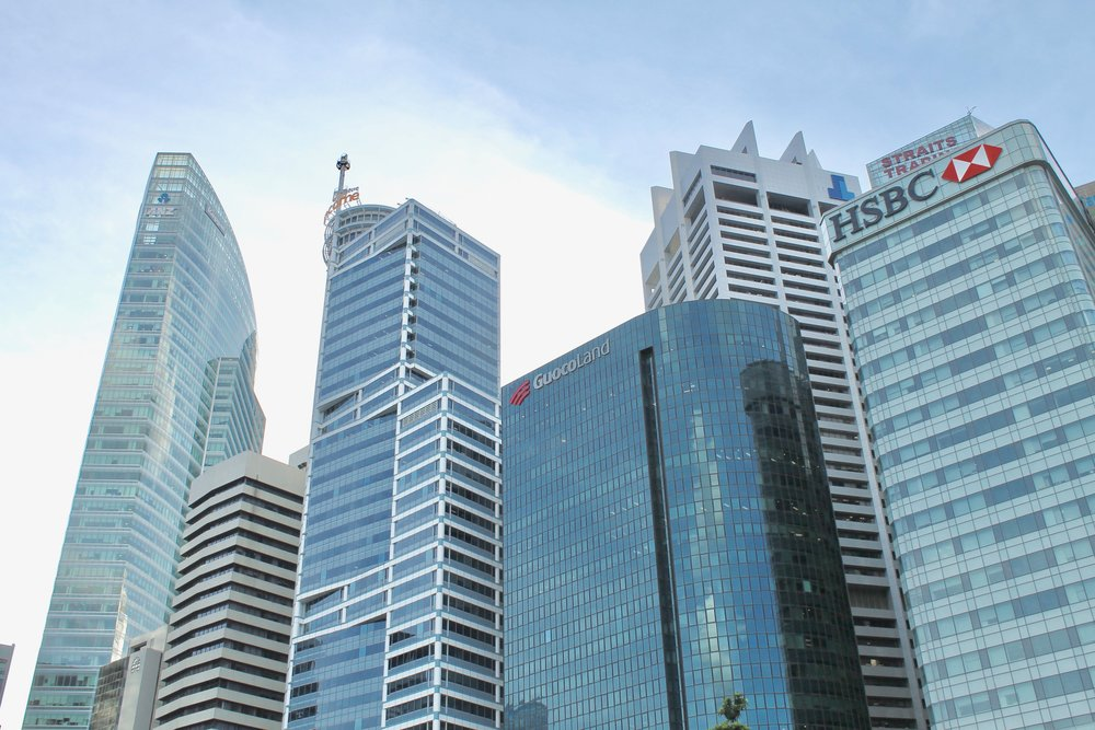 Downtown Core, Singapore skyline